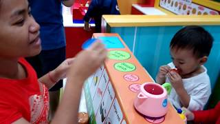 Kid saler Japanese food toy at Kid Zoon Playground - SaNuk Kids