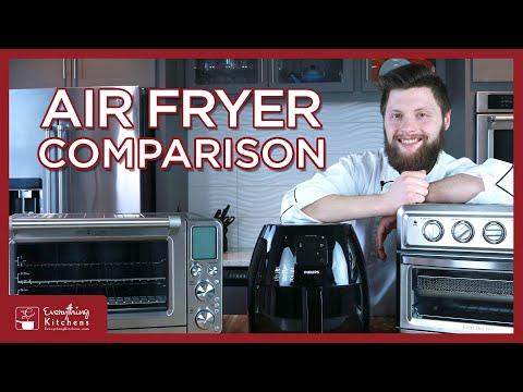 Best Air Fryers 2019 - Cuisinart Air Fryer VS Phillips Air Fryer XL VS Breville Smart Oven Air Fryer
