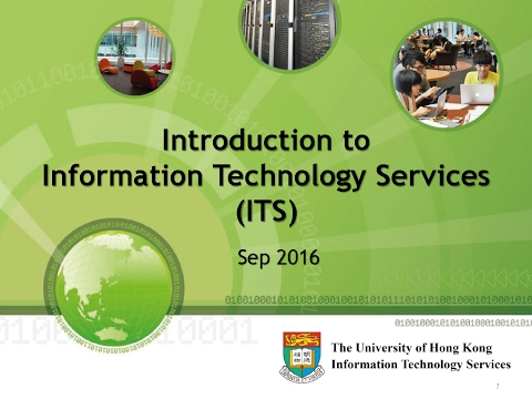 Introductory to Information Technology Services (ITS)