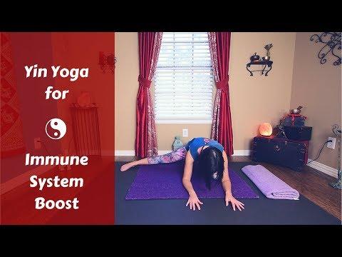 50 MIN Yin Yoga for Immune System Health | Yin Yoga to Boost Immunity | Yoga for Immune System