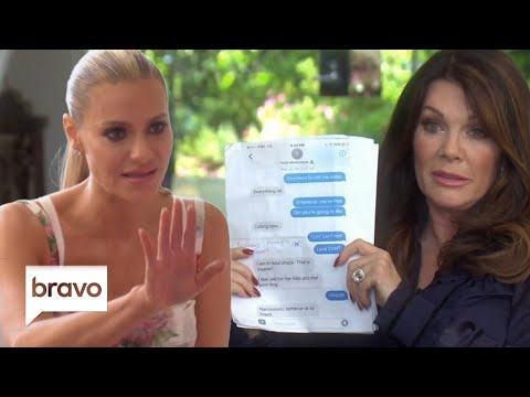 Lisa Vanderpump Shows Dorit Kemsley Teddi's Texts | The Real Housewives of Beverly Hills | Bravo