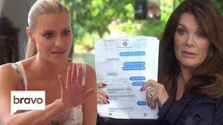 Lisa Vanderpump Shows Dorit Kemsley Teddi's Texts | The Real Housewives of Beverly Hills | Bravo