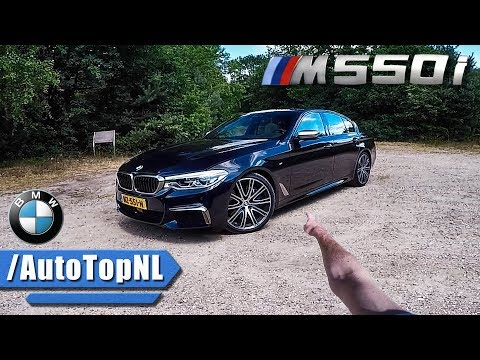 BMW M550i REVIEW POV Test Drive on AUTOBAHN by AutoTopNL