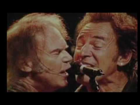 Bruce Springsteen and Neil Young - All Along The Watchtower 2004