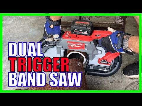 Deep Cut Dual Trigger Band Saw Review - Milwaukee 2729S [REAL WORK]