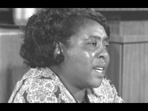 Fannie Lou Hamer: Bio, Civil Rights Movement, Education, Facts, Early Life (1993)