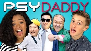 Repeat youtube video TEENS REACT TO PSY - DADDY