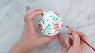 Floral Ornament   The DIY Mommy   Michaels