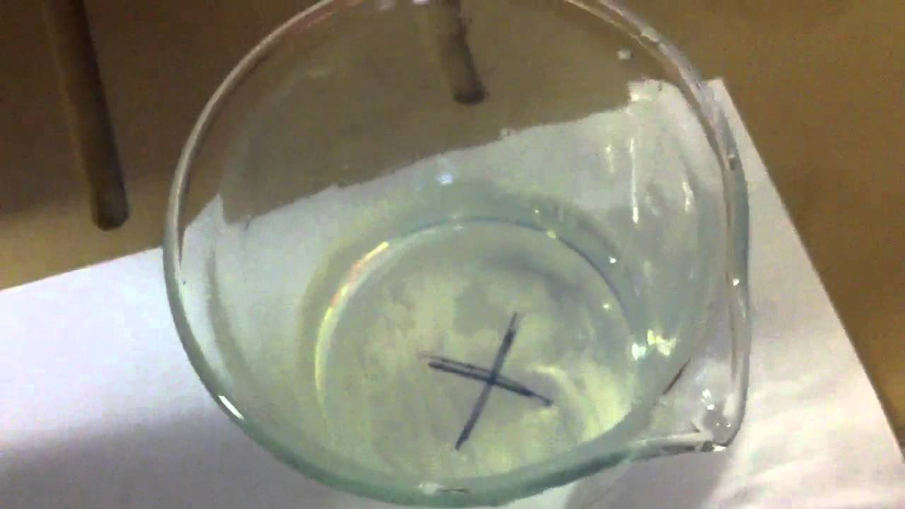 Sodium Thiosulphate Reaction With Hydrochloric Acid