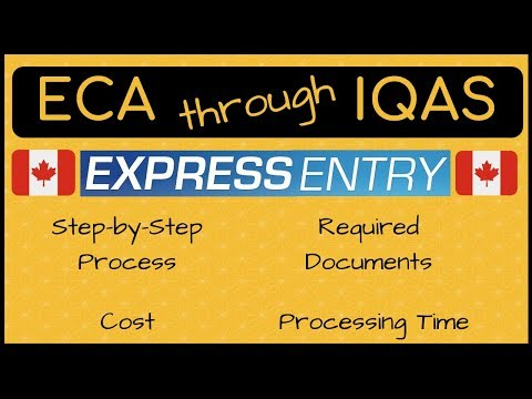 🇨🇦 IQAS for ECA | Step- by-Step Process - YouTube