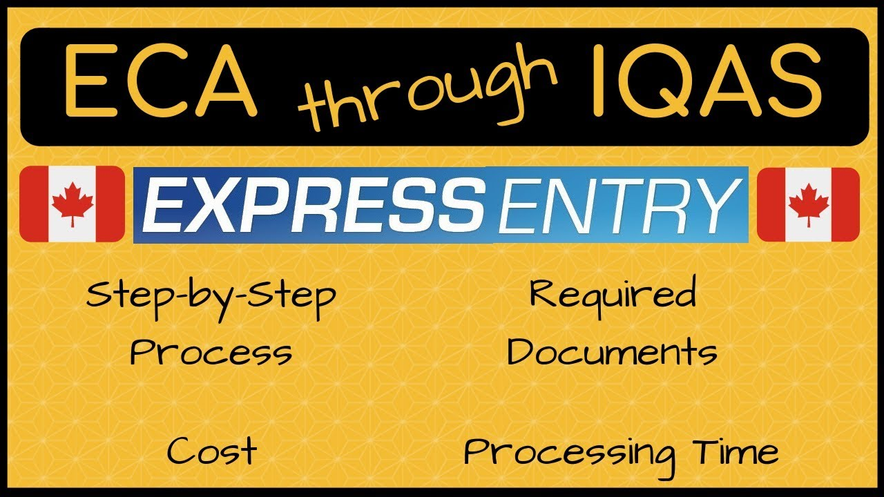 🇨🇦 IQAS for ECA | Step- by-Step Process