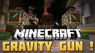 Minecraft Mody - GRAVITY GUN 1.4.5 ! (Grawitacyjna Broń !)