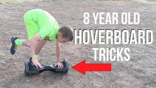 8 YEAR OLD DOES TRICKS ON A HOVERBOARD! (Swegway, mini segway)(This was my 8 year old cousins first attempt at riding a hoverboard (swegway) and we were really surprised he was able to do some of those tricks! Based on ..., 2015-12-12T16:00:01.000Z)