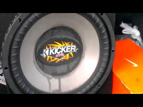 3000 Watt 15 Inch Kicker Cvr Hit Hard Youtube