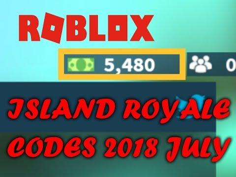 ISLAND ROYALE CODES 2018 JULY (Roblox Fortnite) - YouTube