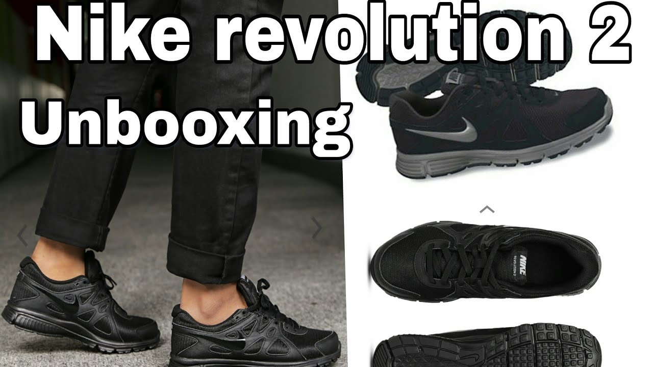 Nike Revolution 2 unboxing and review