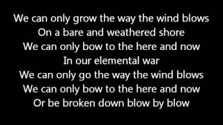 Rush-The Way The Wind Blows (Lyrics)