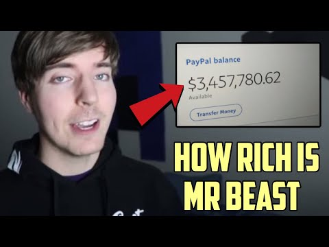 How RICH Is Mr Beast? (Mr Beast Networth)