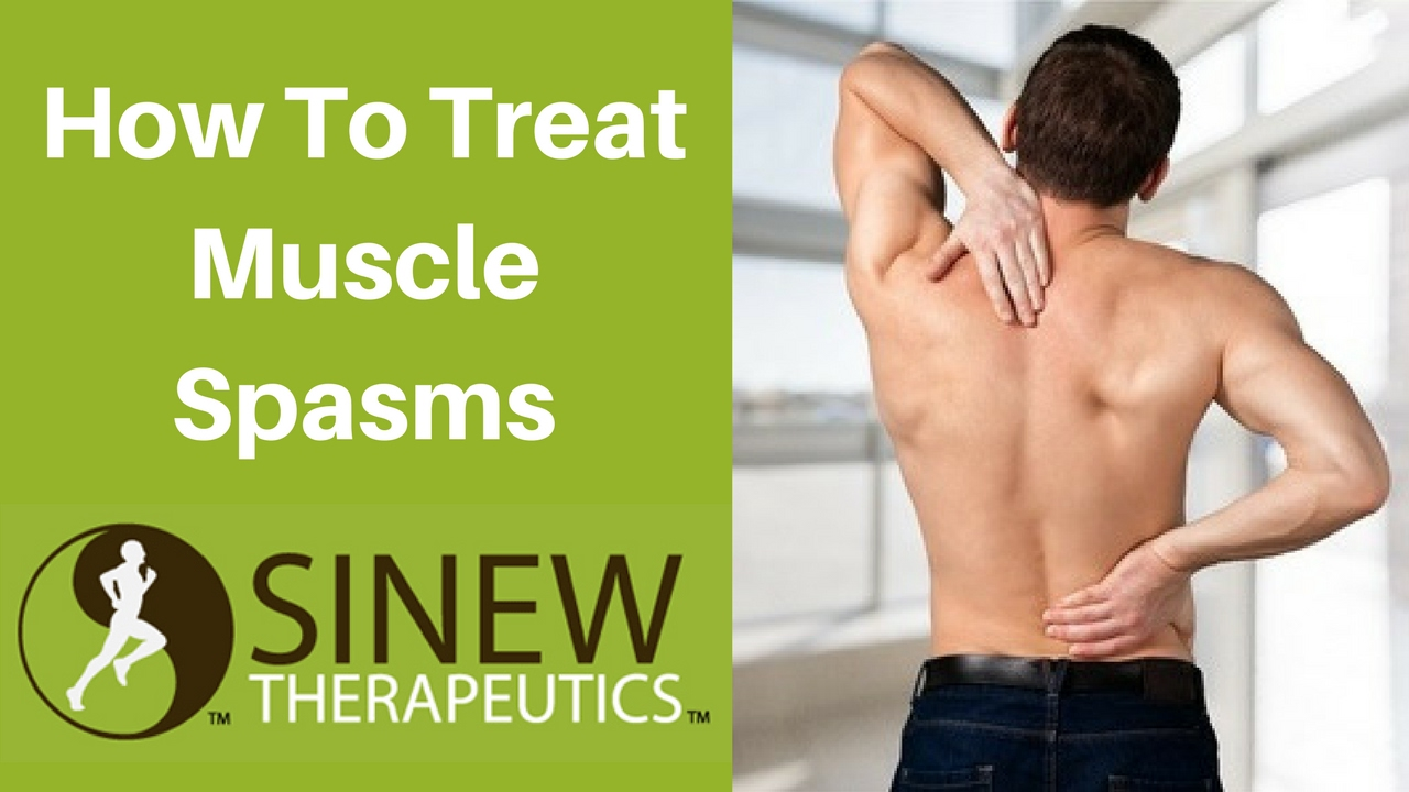 How To Treat Muscle Spasms and Speed Recovery - YouTube