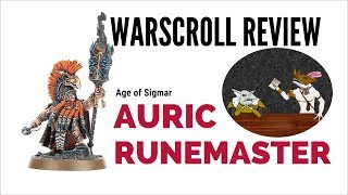 age of Sigmar Auric Runemaster Warscroll Review
