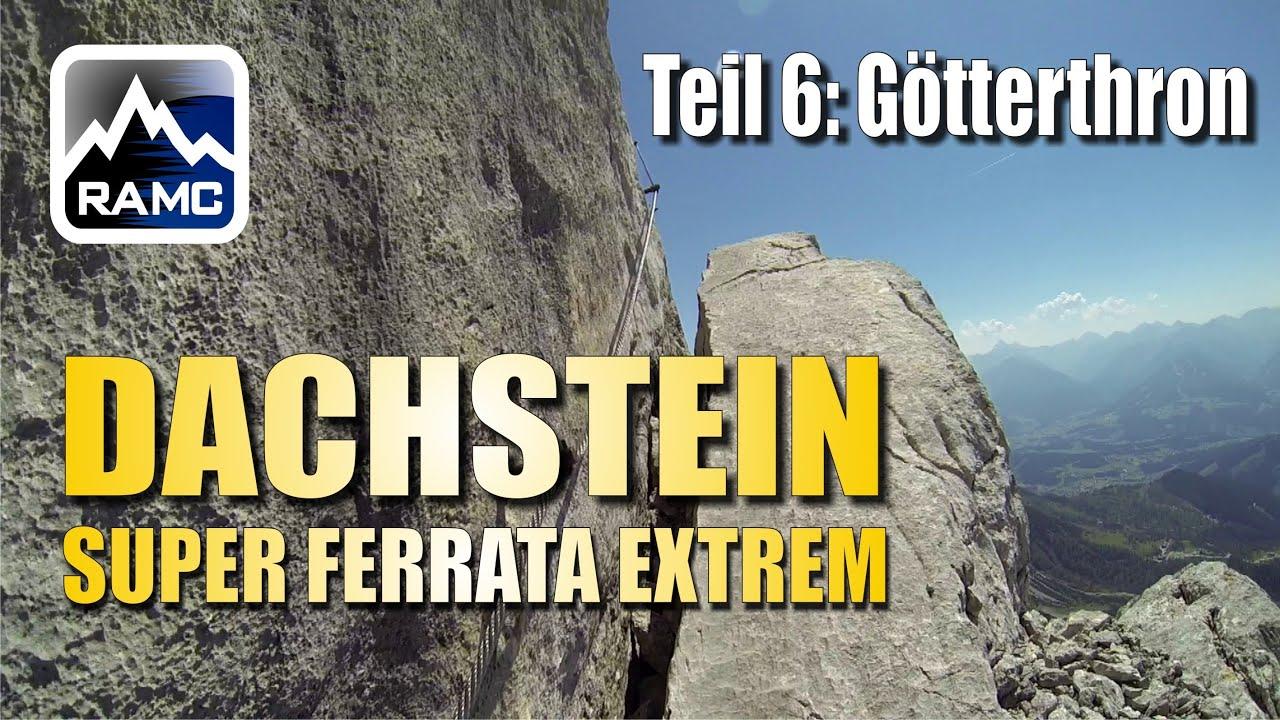 Klettersteig Johann Dachstein : Klettersteige dachstein #6 johann klettersteig götterthron