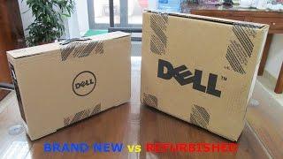 So Sánh, Phân Biệt Laptop Dell Brand New và Refurbished