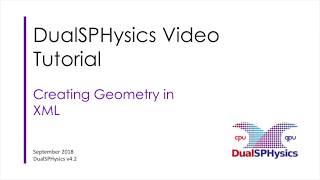 02 DualSPHysics XML Geometry