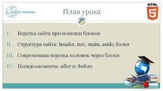 🐘 Курс HTML, урок 5: Блочная верстка сайтов