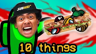 10 Things Not To Do at SUBWAY..
