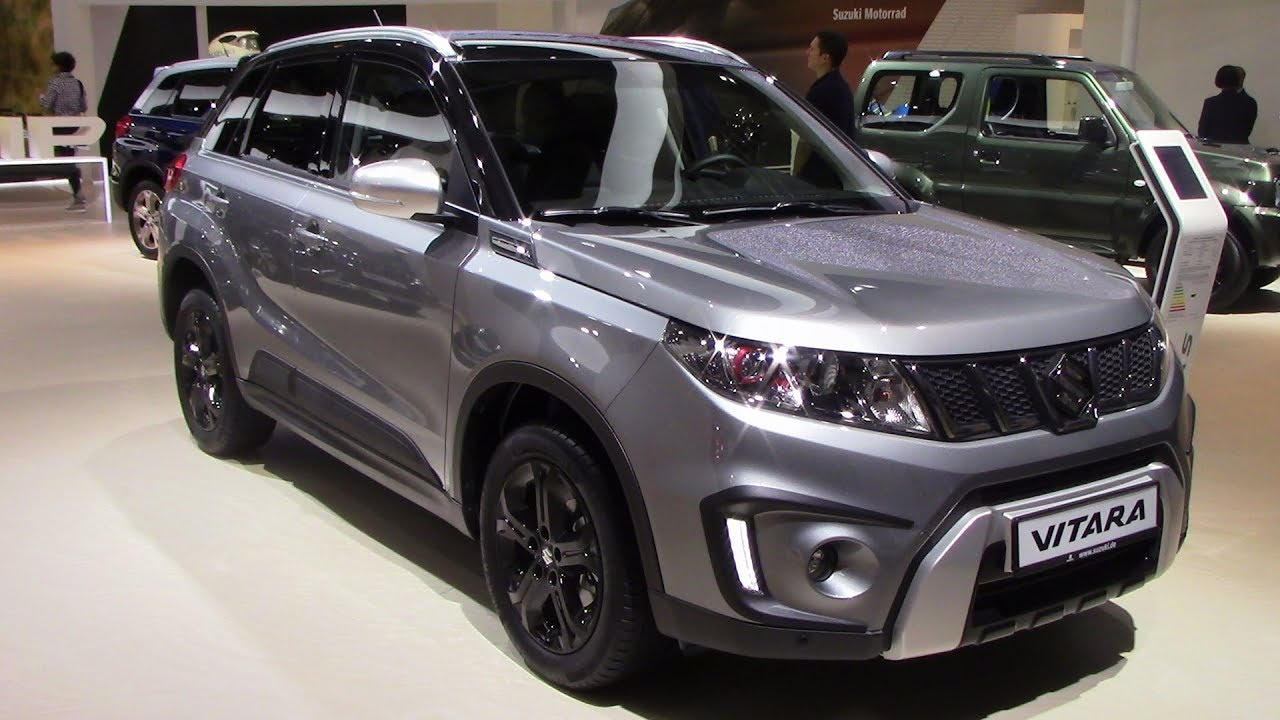 2018 suzuki vitara facelift walkaround frankfurt autoshow youtube. Black Bedroom Furniture Sets. Home Design Ideas