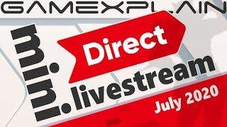 Let's Watch the Nintendo Direct Mini: Partner Showcase (GameXplain Reacts)