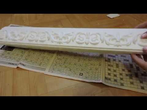 видео: Декоративные полки из пенопласта/ decorative shelves made of foam plastic