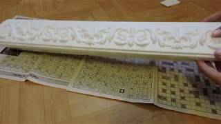 Декоративные полки из пенопласта/ Decorative shelves made of foam plastic