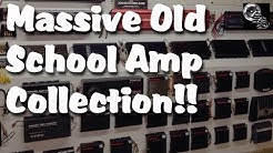 Old School Car Amplifier Collection EPIC Massive Amazing
