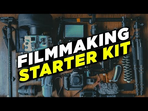 Filmmaking Starter Kit For Beginners