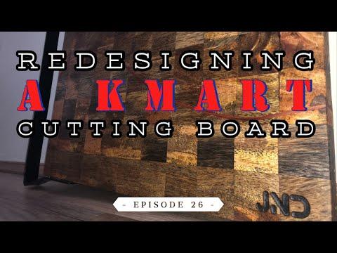 DIY Refurb on a Kmart Cutting Board