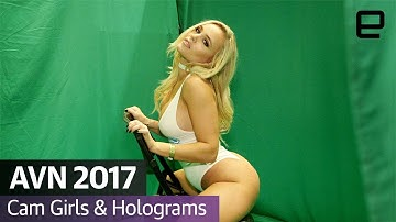 AVN 2017: Cam Girls & Holograms