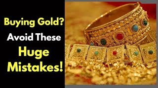 Buying gold jewellery and coins this wedding season? Avoid these common mistakes