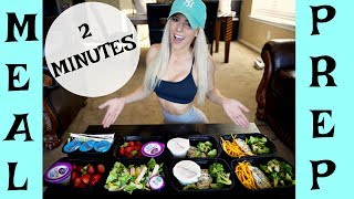MEAL PREP in 2 Minutes