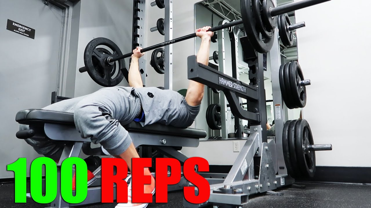 Download Bench Press Your Bodyweight 100 REPS   Day 6 Transformation update