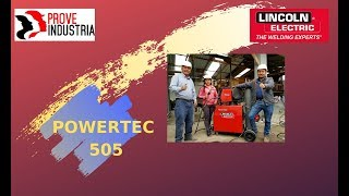 Lincoln powertec 505