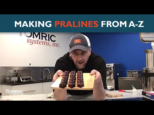 Pralines A-Z: Live from the Tomric Innovation Center
