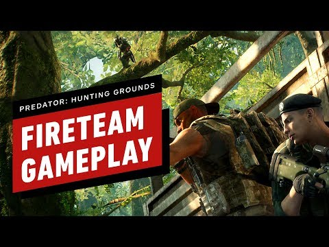 8 Minutes Of Predator: Hunting Grounds Fireteam Gameplay