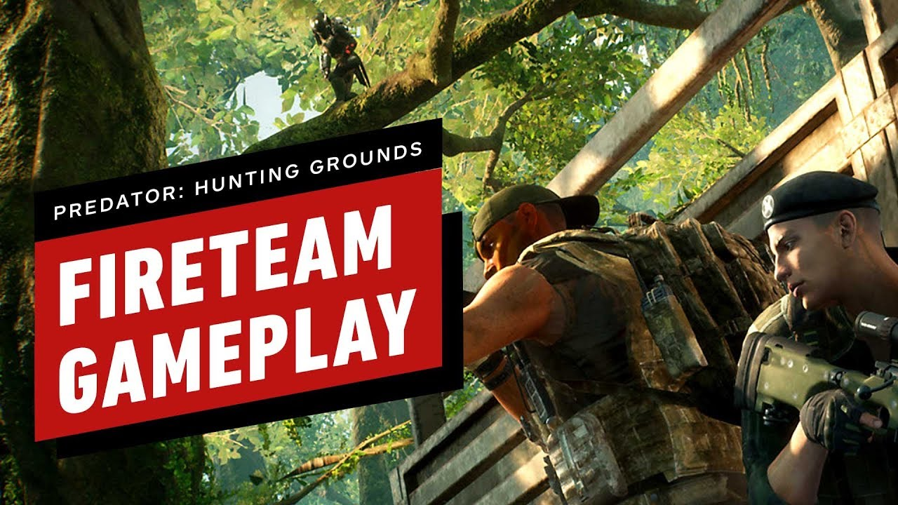 8 Minutos de Predator: Gameplay de Hunting Grounds Fireteam + vídeo