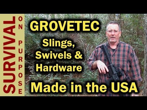 GrovTec USA Made QD Sling and Hardware - CMMG Resolute 200