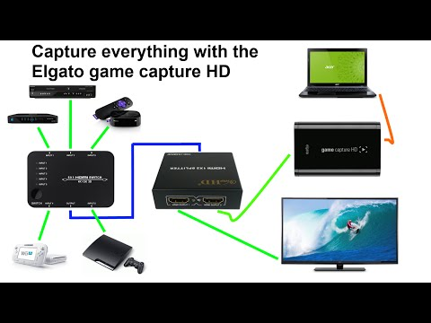 How to record Capture DVR Live TV NETFLIX AMAZON VIDEO GAMES ANYTHING in 1080p