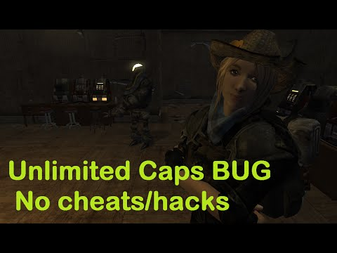 fallout new vegas unlimited caps