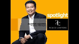 RC & CO SPOTLIGHTS Feat  Aldwin Aquino