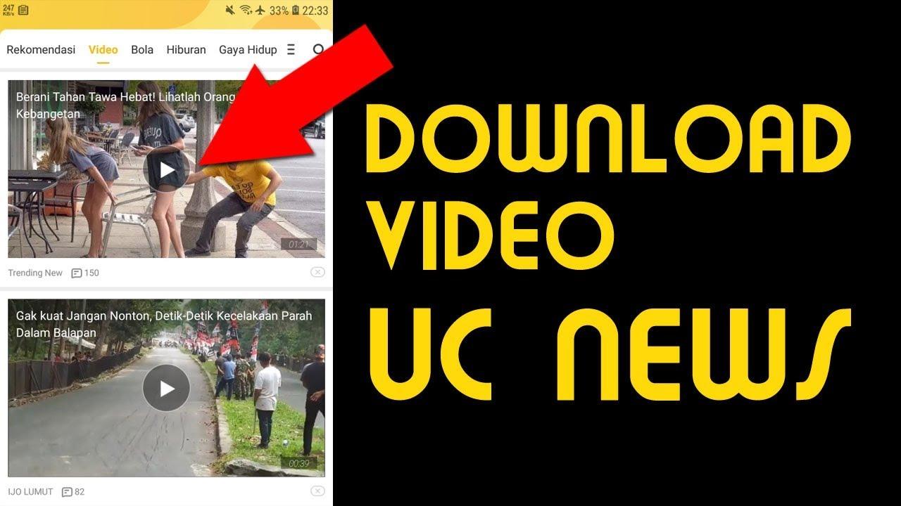 Cara Simpan Video dari UC NEWS ke Galeri Telepon