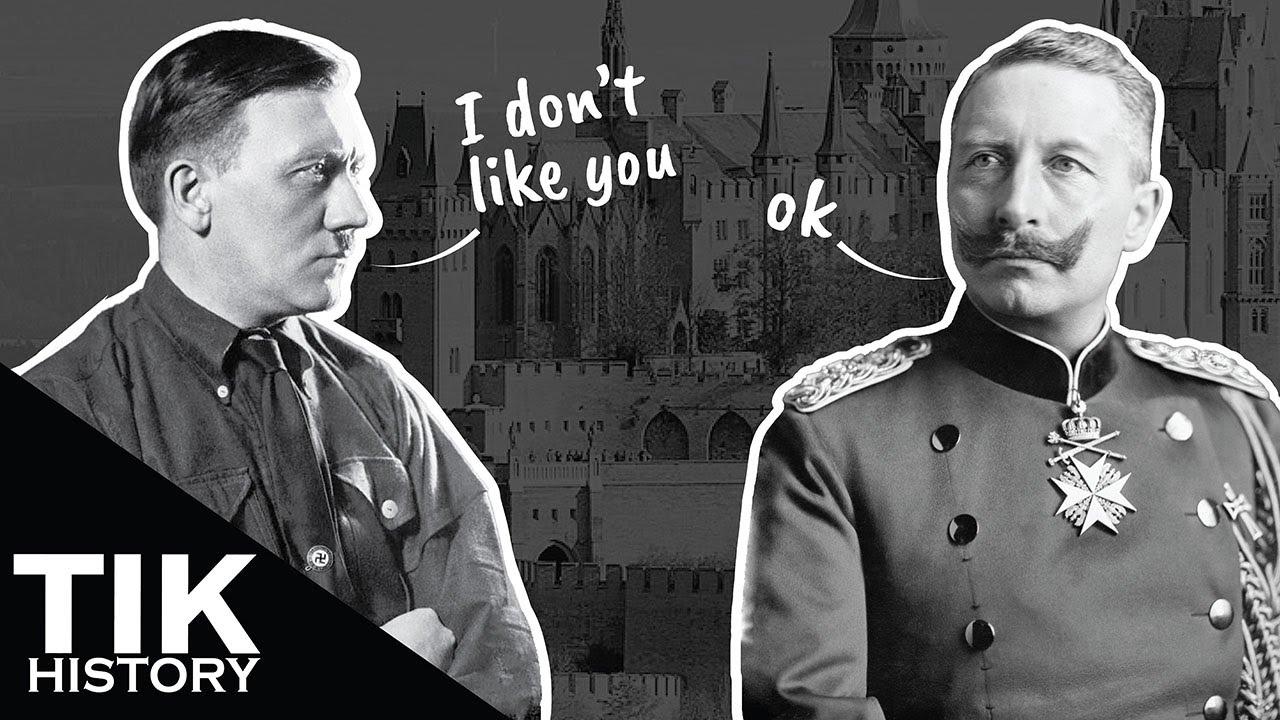 Why didn't Hitler restore Kaiser Wilhelm II to the throne?